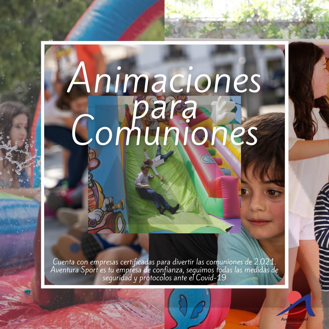 animación para comunión en Jaén, divierte las celebraciones de los niños